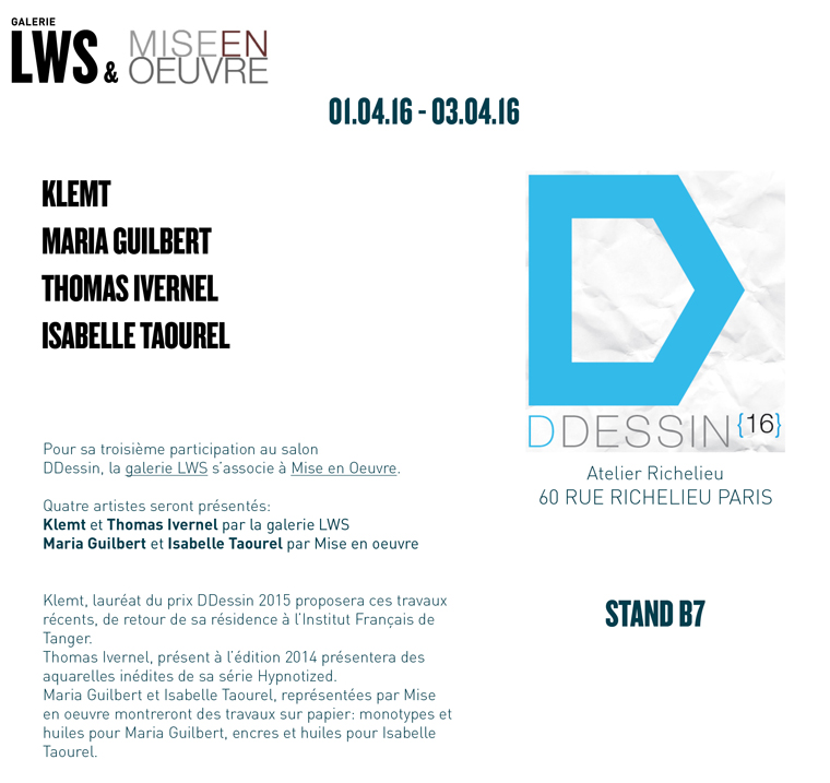 DDessin 2016-galerie LWS